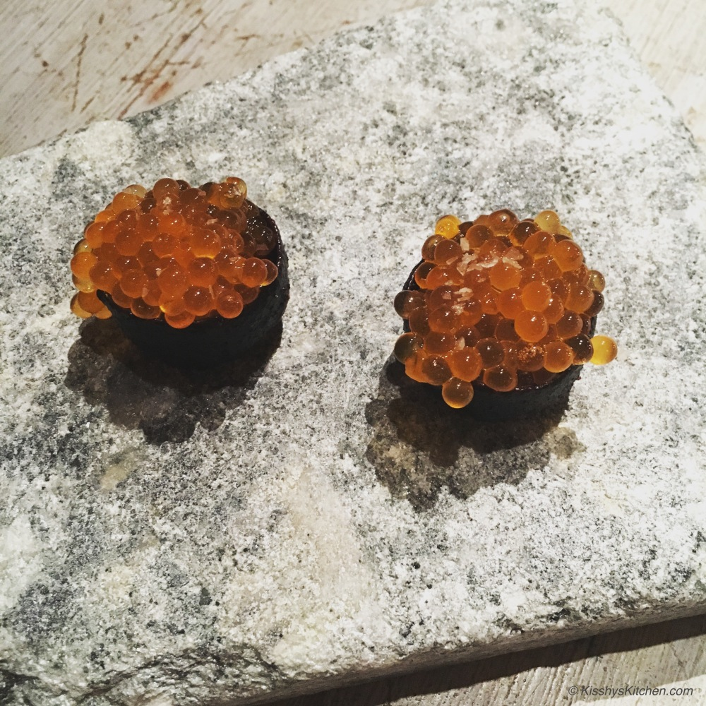 Wild trout roe